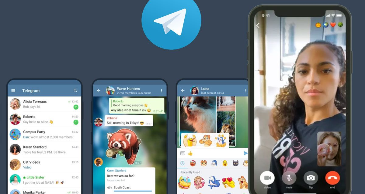 Telegram launches one-on-one video calls on iOS and Android